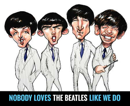 Nobody loves the Beatles, Elton John or the Supremes like we do